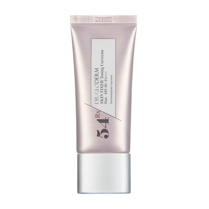 Корректирующая розовая база под макияж Dr.Gloderm Skin Fixer Toning Corrector Pink 30 ml