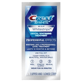 Полоски Для Безопасного Отбеливания Зубов CREST 3D White Professional Effects Whitestrips Teeth Whitening