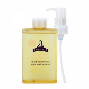 Гидрофильное Масло Увлажняющее С Кокосом Etude House Real Art Cleansing Oil Moisture 185ml