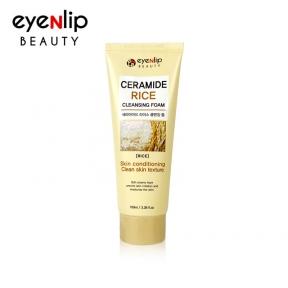 Пенка для умывания с керамидами и экстрактом риса для лица Eyenlip Ceramide Rice Cleansing Foam 100ml
