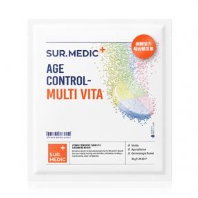 Антивозрастная мультивитаминная тканевая маска для лица Neogen SUR.MEDIC+ Age Control Multi vita Mask 30g
