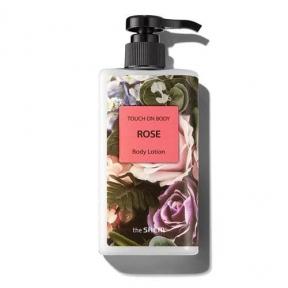 Лосьон для тела увлажняющий с экстрактом дамасской розы The SAEM Touch On Body Rose Body Lotion 300ml
