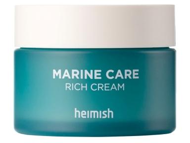 Крем увлажняющий и укрепляющий с морскими водорослями для лица Heimish Marine Care Rich Cream 60ml