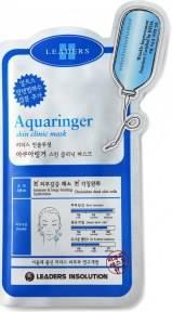 Тканевая Маска Профессиональная Интенсивно Увлажняющая Leaders Insolution Aquaringer Skin Clinic Mask