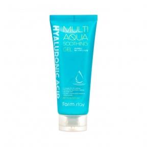 Гель многофункциональный с гиалуроновой кислотой FarmStay Hyaluronic Acid Multi Aqua Soothing Gel 200ml