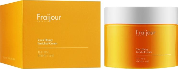 Крем с прополисом для лица Evas Fraijour Yuzu Honey Enriched Cream 50ml