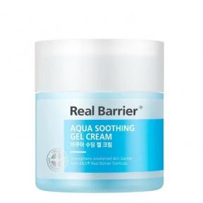 Крем-гель увлажняющий с экстрактом азиатской центеллы Real Barrier Aqua Sooting Gel Cream 50ml