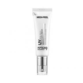Солнцезащитный крем с пептидным комплексом MEDI-PEEL Peptide 9 UV Derma Sun Cream SPF50+ PA++++ 50ml