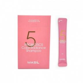 Шампунь с пробиотиками для защиты цвета волос  Masil 5 Probiotics Color Radiance Shampoo 8 ml
