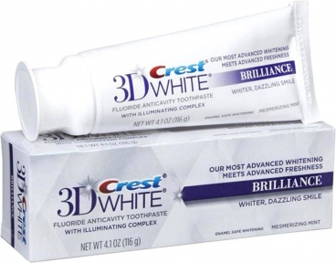 Паста зубная отбеливающая Crest 3D White Brilliance Vibrant Peppermint Whitening Toothpaste