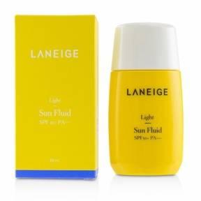 Солнцезащитный флюид водостойкий с экстрактом личи Laneige Light Sun Fluid SPF50+ PA+++ 50ml