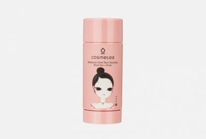 Стик очищающий для лица с экстрактом черного чая и китайского лимонника Moisture Care Cosmetea 65gr