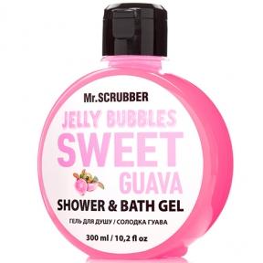 Гель для душа «Sweet Guava» Mr.Scrubber Jelly Bubbles Shower & Bath Gel, 300ml