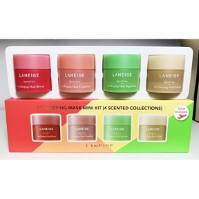 Набор из четырех масок для губ Laneige Lip Sleeping Mask Mini Kit 4ea x 8g