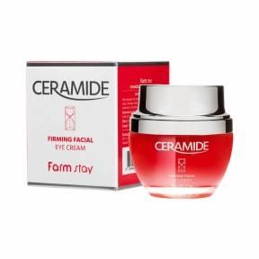 Крем для век восстанавливающий и укрепляющий кожу с керамидами FarmStay Ceramide Firming Facial Eye Cream 50ml