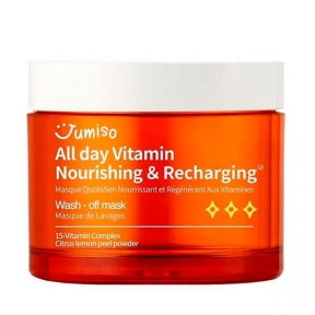 Маска для лица витаминная питательная Jumiso All day Vitamin Nourishing & Recharging Wash-Off Mask 100ml