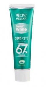 Отбеливающая зубная паста Median Dental White 67% Spear (светло-зеленая) 100ml