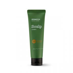 Розмариновый стимулирующий скраб для кожи головы Aromatica Rosemary Scalp Scrub 165g