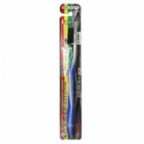 Зубная Щетка С Напылением Бамбукового Угля Dr. Lusso Nano Charcoal Toothbrush