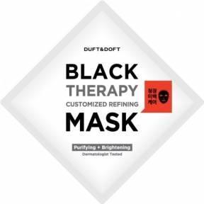 Маска Очищающая С Древесным Углем Duft & Doft Black Therapy Customized Refining Mask