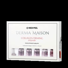 Омолаживающие ампулы с коллагеном и гиалуроновой кислотой MediPeel Derma Maison Collagen Firming Ampoule 5mlx10ea