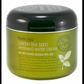 Крем осветляющий с экстрактом камелии  Farmstay Green Tea Seed Whitening Water Cream 100ml