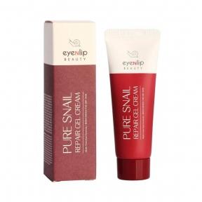 Гель-крем регенерирующий с муцином улитки для лица Eyenlip PURE SNAIL REPAIR GEL CREAM 30 ml