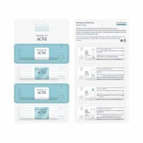 Набор Для Чувствительной И Проблемной Кожи Pyunkang Yul ACNE SAMPLE Pouch (Acne Spot Cream, Acne Cream, Acne Toner, Acne Facial Cleanser)