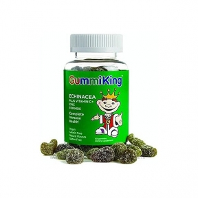 Конфеты жевательные с эхинацеей, витамином C и цинком Gummi King 90pcs