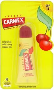 Бальзам лечебный с вишневым вкусом для губ Carmex Daily Care Lip Balm SPF 15 Cherry Tube 10g