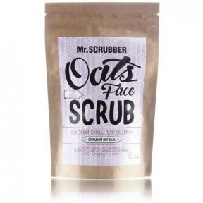 Скраб с овсяными хлопьями для лица Mr.Scrubber Oats 150g