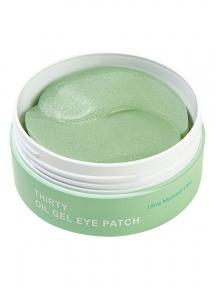 Патчи омолаживающие с коллагеном Lime Oil Gel Eye Patch 30 Ultra Moisture 60шт