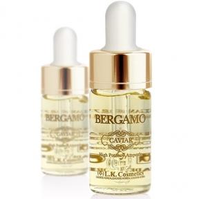 Сыворотка успокаивающая с экстрактом портулака Bergamo   High Potency Vitamin Ampoule 13ml