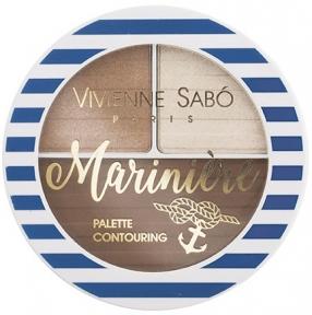 Палетка скульптурирующая для лица Vivienne Sabo Palette Contouring №2 6g