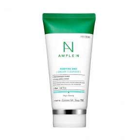 Крем-молочко для снятия макияжа с маслом можжевельника Ample N Purifying Shot Cream Cleanser 150ml