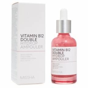 Сыворотка Восстанавливающая Ультра Увлажняющая С Витаминов В12 MISSHA Vitamin B12 Double Hydrop Ampouler 40ml