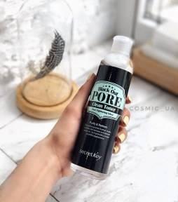 Тонер Для Очищения, Сужения Пор И Уменьшения Черных Точек Secret Key Black Out Pore Clean Toner