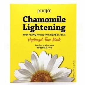 Маска Осветляющая С Экстрактом Ромашки Petitfee Chamomile Lightening Hydrogel Face Mask