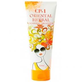 Маска восстанавливающая с комплексом восточных трав для ослабленных волос Esthetic House CP-1 Oriental Herbal Cleansing Treatment 250 ml