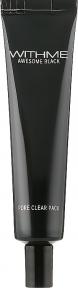 Маска для лица очищающая Evas WithMe Black Pore Clear Pack 30ml