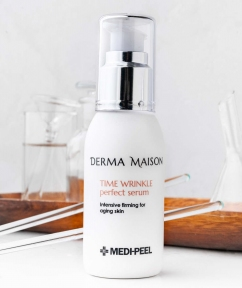 Омолаживающая сыворотка с коллагеном и гиалуроновой кислотой Medi-Peel Derma Maison Time Wrinkle Perfect Serum 50ml