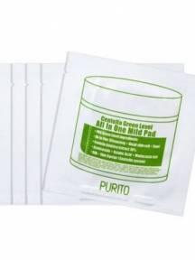 Пилинг - Диски с Экстрактом Центеллы Purito Sample Centella Green Level All In One Mild Pad
