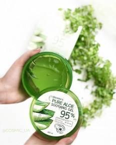 Гель Алое Универсальный Увлажняющий Deoproce Pure Aloe Soothing Gel 95% 300 ml