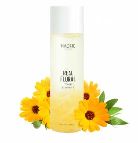 Увлажняющий тонер-антистресс для кожи лица с календулой Nacific Real Calendula Floral Toner 180ml