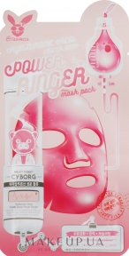 Тканевая маска для лица с гиалуроном Elizavecca Hyaluronic Acid Water Deep Power Ringer Mask Pack -