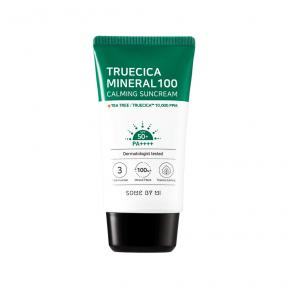 Солнцезащитный крем для чувствительной и проблемной кожи SOME BY MI Truecica Minera 100 Calming Suncream SPF 50PA++++ 50ml