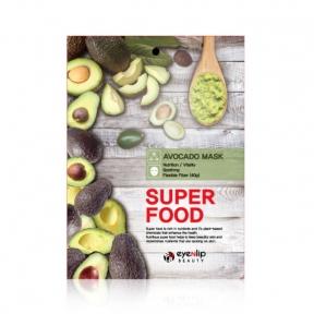 Тканевая маска для лица с экстрактом авокадо Eyenlip Super Food Avocado Mask 23ml