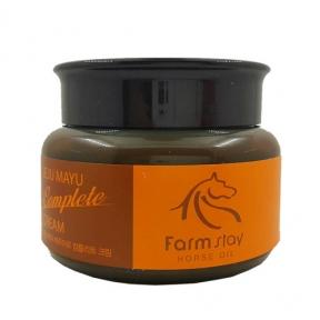 Крем для лица с лошадиным маслом FarmStay Jeju Mayu Complete Cream 100ml