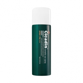 Успокаивающий солнцезащитный спрей с центеллой азиатской MISSHA Cicadin Centella Sun Spray SPF50+ PA++++ 200ml