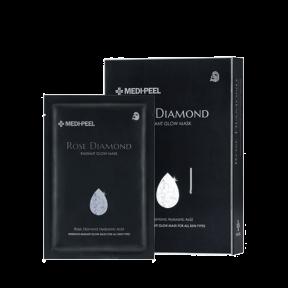 Маска тканевая увлажняющая с экстрактом розы Medi-peel Rose Diamond Radiant Glow Mask 25ml
